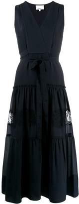 3.1 Phillip Lim Sleeveless Lace Insert Dress