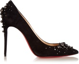 Christian Louboutin Candidate 100mm suede pumps