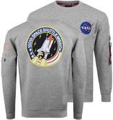 Alpha Industries Space Shuttle Sweatshirt Grey