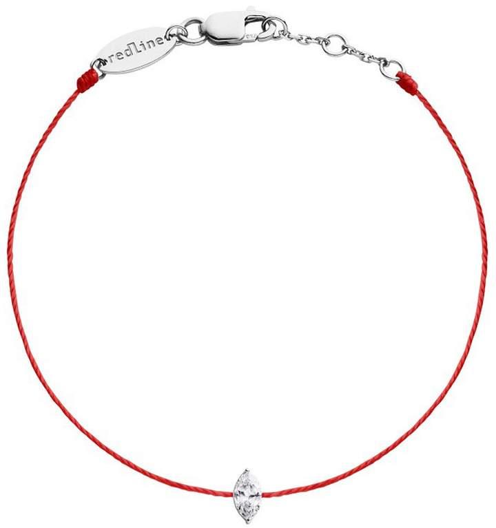 Redline Marquis Diamond Bracelet- Red