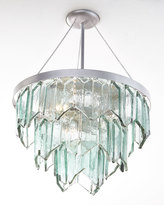 Janice Minor Cut-Glass 3-Light Pendant
