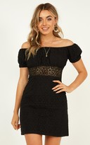 Showpo All My Girls Dress In black lace - 6 (XS) Dresses