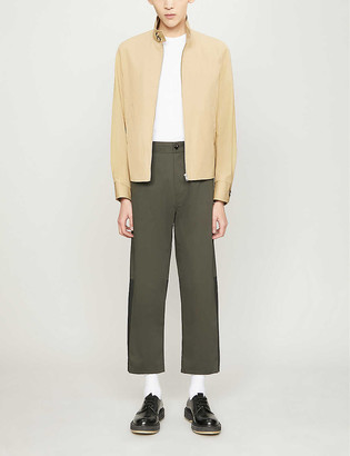 Sandro Zipped cotton-twill jacket