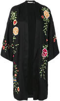 Alice + Olivia Alice+Olivia floral embroidered cape