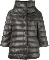 Herno cropped sleeve padded jacket - women - Cotton/Polyamide/Acetate/Goose Down - 38