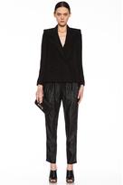 Stella McCartney Viscose Blazer in Black