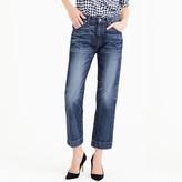 J.Crew Point Sur Japanese denim wide-leg cropped jean