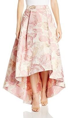 Eliza J Women's High-Low Floral Skirt