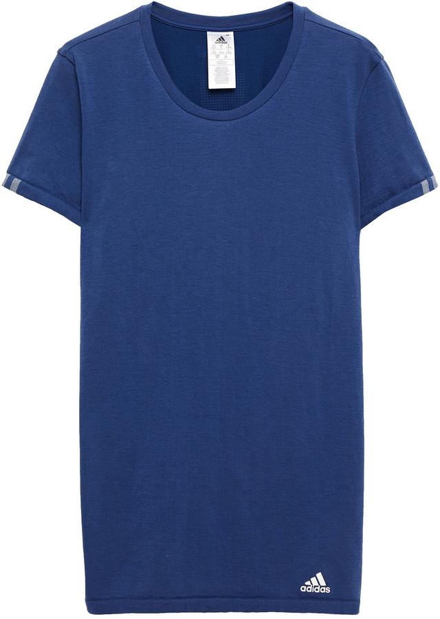 adidas Slub Cotton-blend Jersey T-shirt