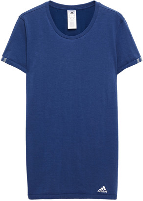 adidas Slub Cotton-blend Jersey T-shirt