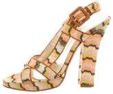 Missoni Chevron Patterned Sandals
