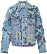 Faith Connexion NTMB collage denim jacket