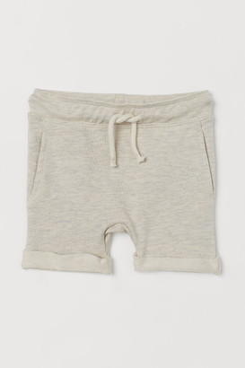 H&M Appliqued Shorts - Beige