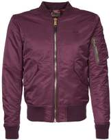 Schott Nyc Bomber Jacket Bordeaux