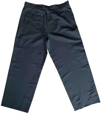 Jil Sander Black Polyester Trousers