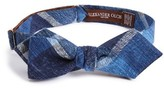 Alexander Olch Men's Plaid Bow Tie