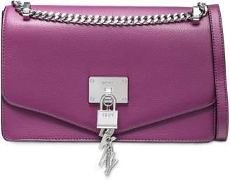 DKNY Pebbled-leather Shoulder Bag