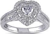 JCPenney MODERN BRIDE 3/4 CT. T.W. Diamond 14K White Gold Heart Ring