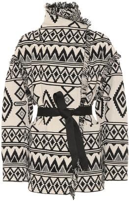 Etoile Isabel Marant Josiali cotton-jacquard jacket