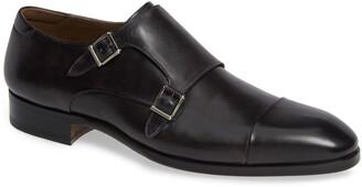 Magnanni Riva Double Monk Strap Shoe