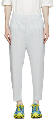 Homme Plissé Issey Miyake Grey Pleated MC June Trousers