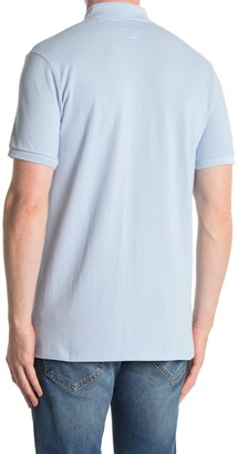 Rag & Bone Short Sleeve Pique Polo