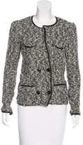 Isabel Marant Leather-Trimmed Bouclé Jacket