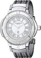 Charriol Women's CE438S650007 Celtic Analog Display Swiss Quartz Silver Watch