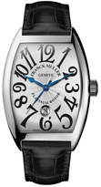 Franck Muller Men's Automatic Curvex Watch with Alligator Strap