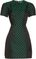 Mary Katrantzou Azurite short-sleeved jacquard dress