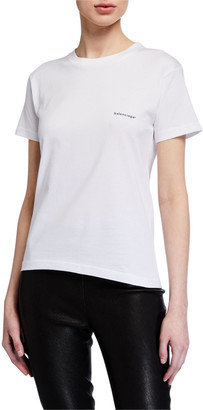 Balenciaga Copyright Fitted Jersey Tee