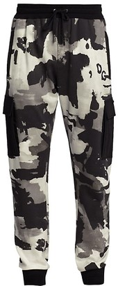 Dolce & Gabbana Camouflage Cargo Pants