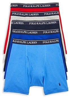 Polo Ralph Lauren Classic Fit Boxer Briefs - Pack of 5