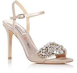 Badgley Mischka Women's Odelia Embellished High-Heel Sandals