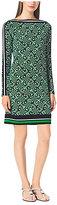 Michael Kors Printed Matte-Jersey Dress