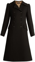 Dolce & Gabbana Double-breasted notch-lapel wool coat