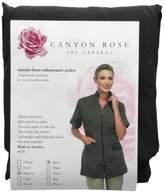 Canyon Rose Tuxedo Front Zip Salon Esthetician Jacket,M