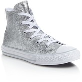 Converse Girls' Stringray Metallic High Top Sneakers - Toddler, Little Kid