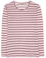 Etoile Isabel Marant Isabel Marant, Étoile Aaron striped linen and cotton top
