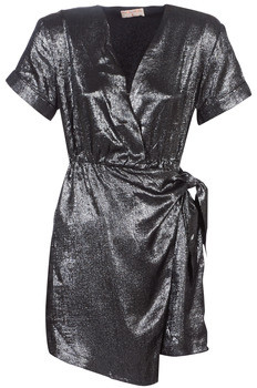 Moony Mood LIVINE women's Dress in Silver