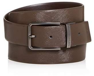 Giorgio Armani Men's Reversible Coated Leather Belt