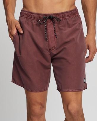 St Goliath Men's Red Boardshorts - Illusion Shorts - Size XXXL at The Iconic