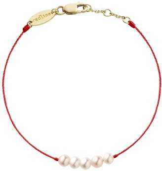 Redline Queen Pearl Bracelet - Red