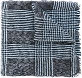 Eleventy plaid scarf - men - Silk/Cashmere/Wool - One Size