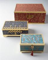 "L'OBJET Fortuny Rabat Gray"" Medium Box"