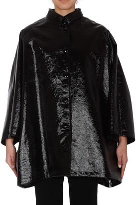 Balenciaga Collared Cocoon Coat
