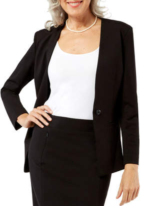 Peace of Cloth Dominique V-Neck Blazer