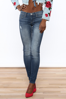 Flying Monkey Skinny Distressed Jeans