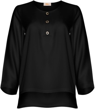 Bo Carter Judy Blouse Black