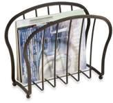InterDesign Astoria Magazine Rack in Oil Rubbed Bronze Finish